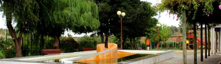lago no jardim público