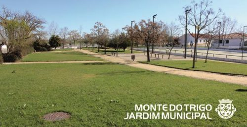 Jardim municipal de Monte do Trigo