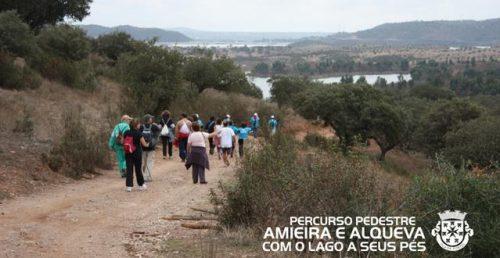 """Percurso Pedestre """"Amieira a Alqueva Com o Lago a Seus Pés"""""""