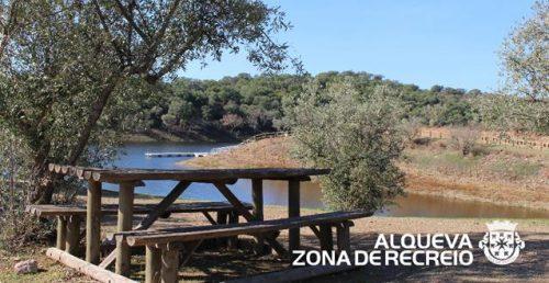Zona de recreio em Alqueva