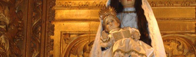 nossa senhora santa ana - padroeira da freguesia de santana