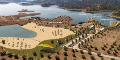 Concurso para contrato de cedência de exploração do edifício de apoio à Praia Fluvial de Alqueva
