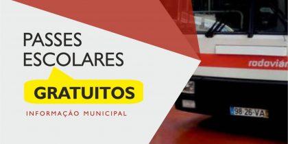 Câmara Municipal de Portel assegura totalidade dos passes no ensino secundário