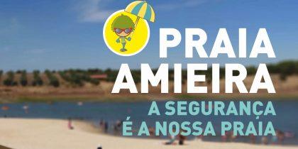 Praia de Amieira novamente galardoada com bandeira azul