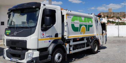 Município de Portel tem nova viatura para recolha de lixo seletivo
