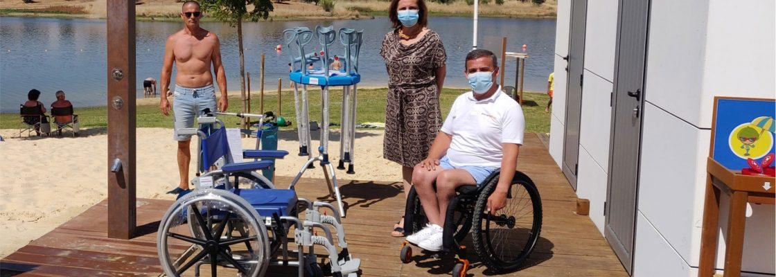Praias com mais equipamentos de apoio à mobilidade reduzida