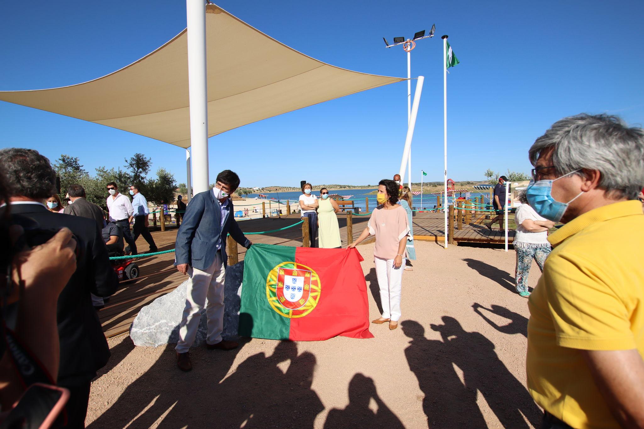 Inauguração da Praia Fluvial de Alqueva